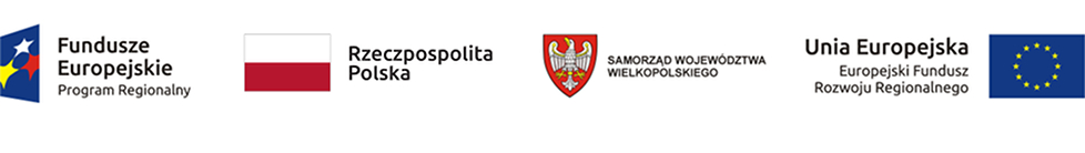 Europejski Fundusz Rozwoju Regionalnego, Rzeczpospolita Polska, Samorząd Województwa Wielkopolskiego